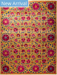 Solo Rugs Floral M1910-647  Area Rug