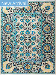 Solo Rugs Floral M1910-648  Area Rug