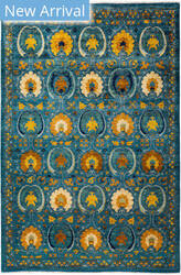 Solo Rugs Floral M1910-652  Area Rug