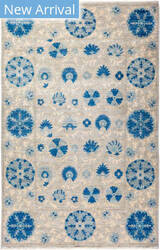 Solo Rugs Floral M1910-653  Area Rug