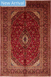 Solo Rugs Kashan M6085-22092  Area Rug