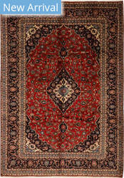 Solo Rugs Kashan M6085-22119  Area Rug