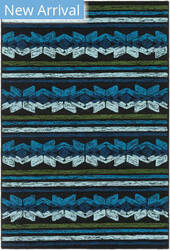 Rugstudio Sample Sale 159365R Navy Blue Area Rug