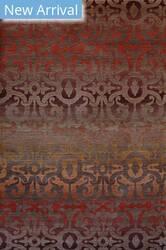 Rugstudio Sample Sale 105584R Walnut - Red Area Rug