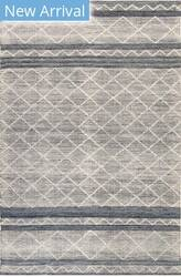 Trans-Ocean Artista Diamond Stripe 8450/33 Denim Area Rug
