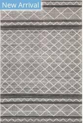 Trans-Ocean Artista Diamond Stripe 8450/47 Grey Area Rug