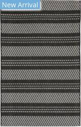 Trans-Ocean Belmont Horizontal Stripe 7306/47 Charcoal Area Rug