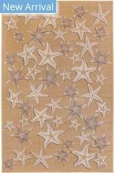 Trans-Ocean Carmel Starfish 8415/12 Natural Area Rug