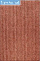 Trans-Ocean Carmel Texture Stripe 8422/24 Red Area Rug