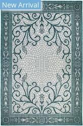 Trans-Ocean Carmel Mosaic 8429/94 Blue Area Rug
