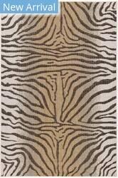 Trans-Ocean Carmel Zebra 8431/12 Beige Area Rug