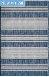 Trans-Ocean Carmel Stripe 8435/33 Navy Area Rug