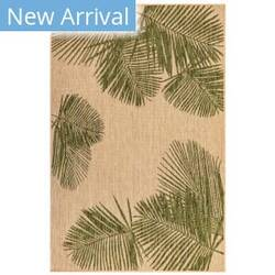 Trans-Ocean Carmel Palm 8439/06 Green Area Rug