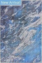Trans-Ocean Havana River 8848/03 Blue Area Rug