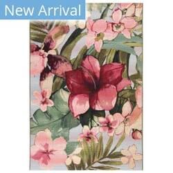 Trans-Ocean Marina Tropical Floral 8063/44 Multi Area Rug