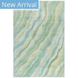 Trans-Ocean Piazza Waves 7284/04 Green Area Rug