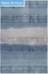 Trans-Ocean Piazza Textured Stripe 7286/33 Navy Area Rug