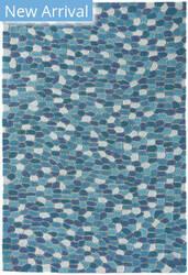 Trans-Ocean Spello Pebbles 1965/04 Aqua Area Rug