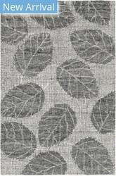 Trans-Ocean Savannah Leaf 9502/19 Flannel Area Rug