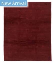 Tufenkian Tibetan Lotus and Vine Ruby Area Rug
