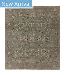Tufenkian Knotted Cloudband Grey Area Rug