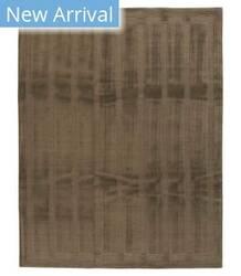 Tufenkian Tibetan Hand-Knotted Tibetan Setana Brown Area Rug
