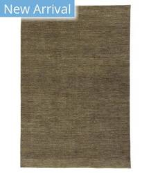 Tufenkian Knotted Lechee Brown Gold Area Rug