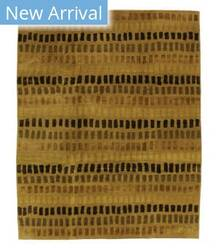 Tufenkian Tibetan Zipper Giti Gold/Beige Area Rug