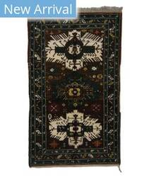 Tufenkian Knotted Seychour II Brown Area Rug