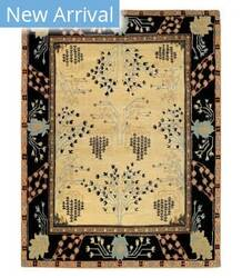 Tufenkian Tibetan Donegal Branches Almond Area Rug