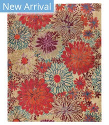 Tufenkian Tibetan Bouquet Autumn Area Rug