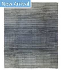 Tufenkian Tibetan Flip Side Steel Blue Area Rug