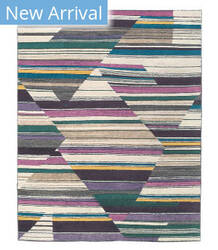 Tufenkian Tibetan Abstract Fall Color By Laura Kirar  Area Rug