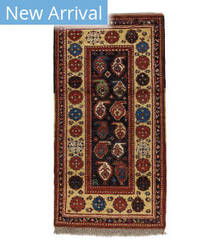 Tufenkian Knotted Boteh Rust Area Rug