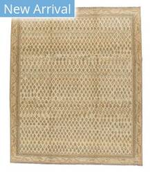 Tufenkian Knotted Boteh Gold Area Rug