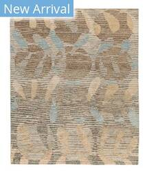 Tufenkian Tibetan Circle Branch II Tan Area Rug