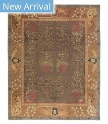 Tufenkian Tibetan Donegal Branches Tree Rose Area Rug