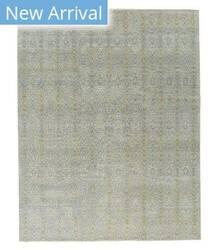Tufenkian Knotted Presto Blue Area Rug