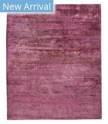 Tufenkian Tibetan Gemstone Rose Quartz Area Rug