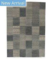 Tufenkian Knotted Chacker Beige Blue Area Rug