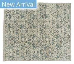 Tufenkian Knotted Woolen Grey Area Rug