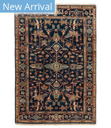 Tufenkian Knotted Jt03 Navy Area Rug