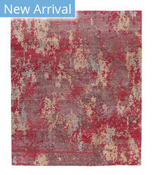 Tufenkian Knotted Sweetpoct Red Area Rug
