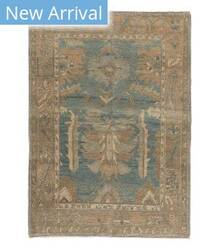 Tufenkian Knotted Navereh Blue/Brown Area Rug