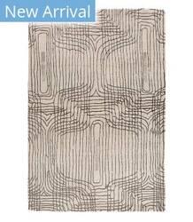 Tufenkian Tibetan Retro Trace White Area Rug