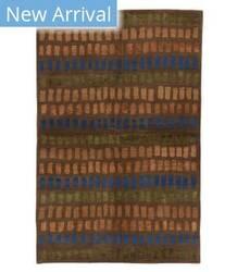 Tufenkian Tibetan Zipper Giti Brown Area Rug