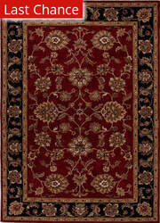 Rugstudio Sample Sale 82231R Red/Ebony Area Rug