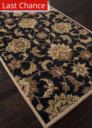 Rugstudio Sample Sale 103765R Ebony Area Rug