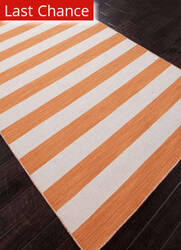 Rugstudio Sample Sale 81944R Vermillion Orange Area Rug