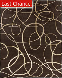 Rugstudio Sample Sale 67603R Brown Area Rug